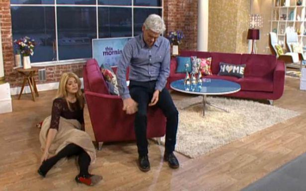 aaaa The Internet Loved Holly And Phils Drunken Antics On This Morning