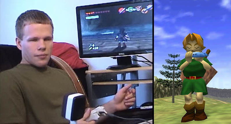 blindthumb Blind Gamer Beats Ocarina Of Time After Five Years Of Trying