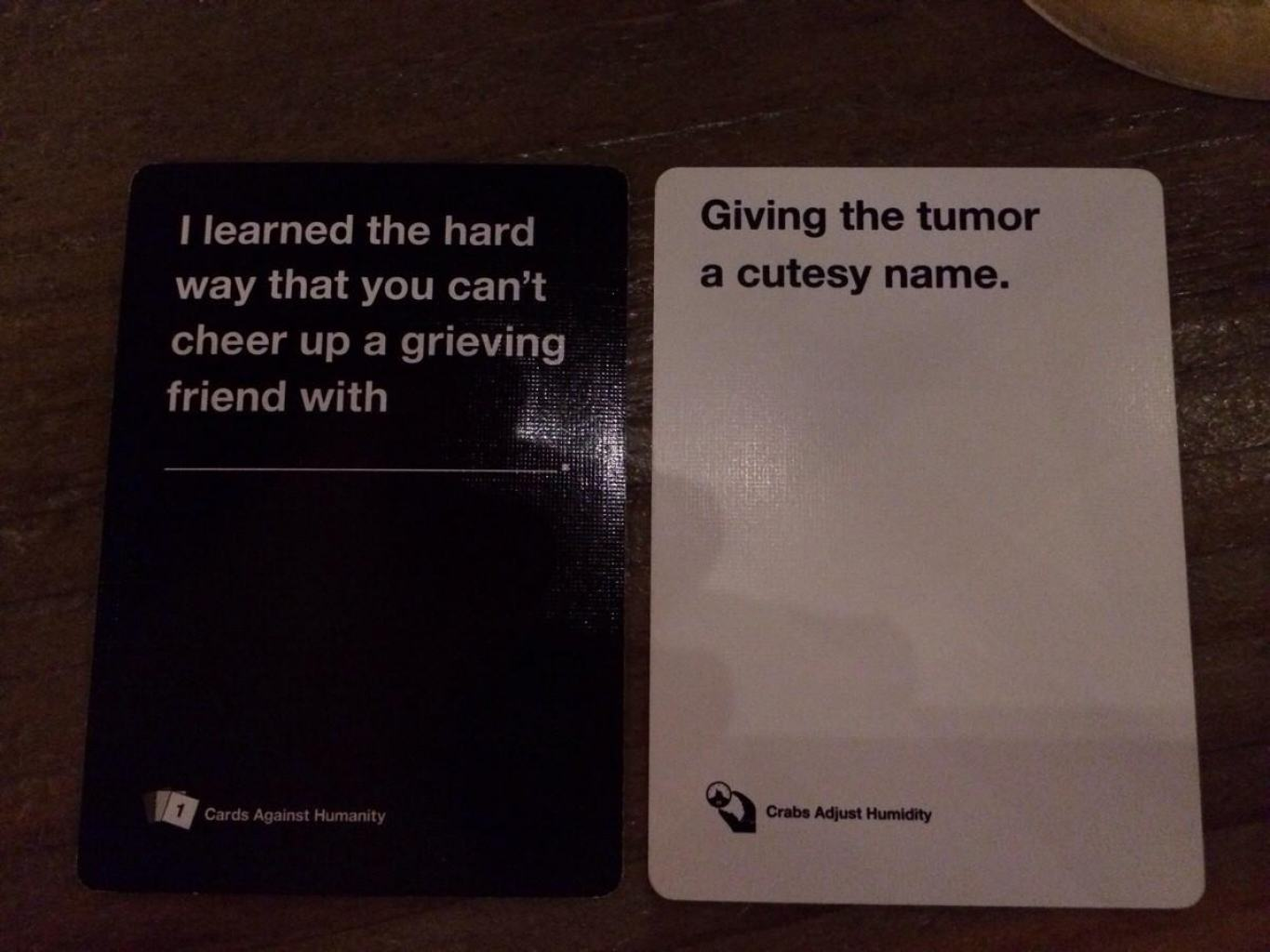 cards 5 Are These The Most Offensive Cards Against Humanity Answers Possible?