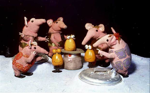 clangers 2972795b These Classic Kids TV Shows Were Trippy As F*ck