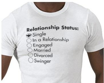 facebook relationship status t shirt1 Things We Do Online Thatd Be Mental In Real Life