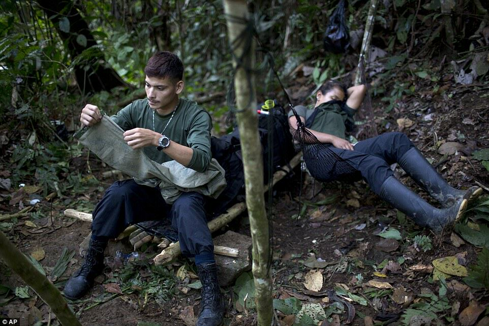 These Incredible Rare Photos Show Life Inside A FARC Jungle Camp farc14