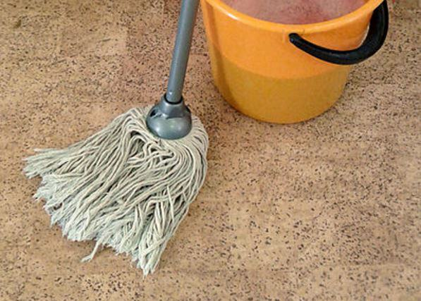 mop bucket sg0vym 1 Man Arrested For Using Wife As Human Mop After Fight Over Sandwich