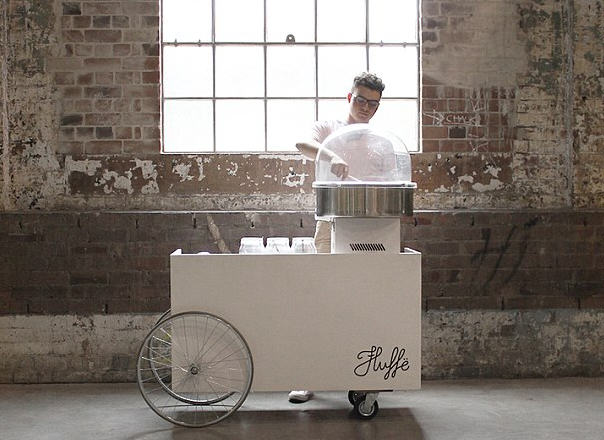 This Guy Creates Tacos, Burgers And Cakes Out Of Unicorn Poop Candy Floss nathan1
