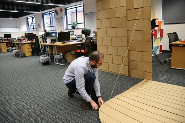 These Guys Took Decorating Their Office To An Incredible Level office fort 12
