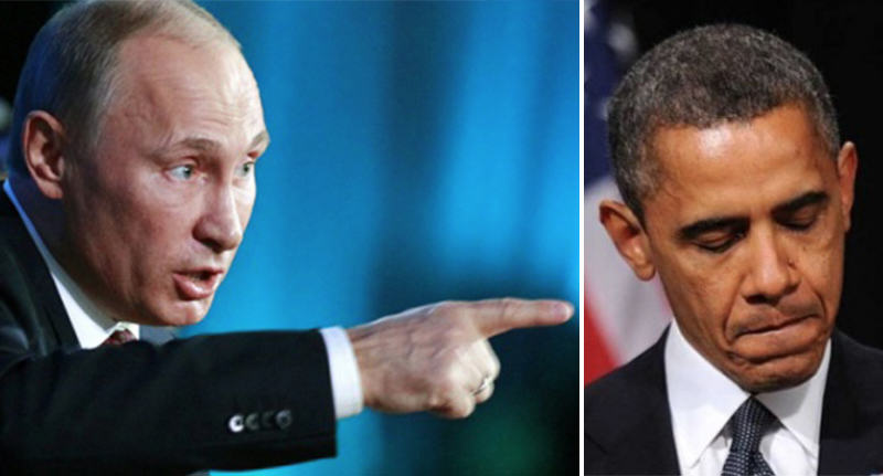 putin obama FB It Looks Like Vladimir Putin Is Feeling Pretty Threatened By The U.S.