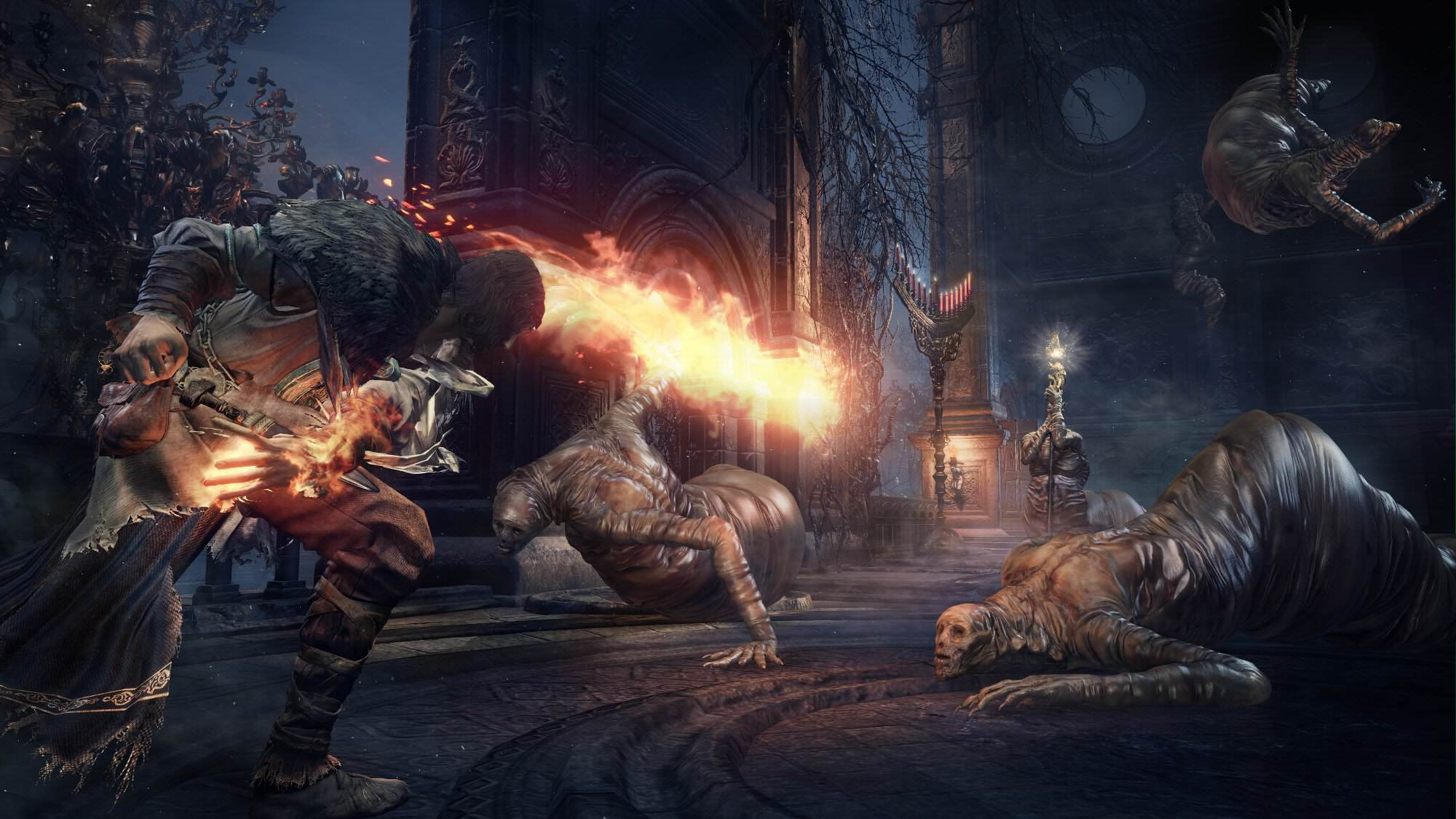 New Dark Souls 3 Screenshots Reveal All Kinds Of New Info pyromancer noscale 1