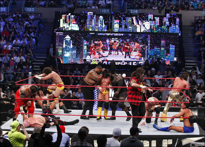 rumble 5 The WWE Royal Rumble Is The Most Wonderful Time Of The Year