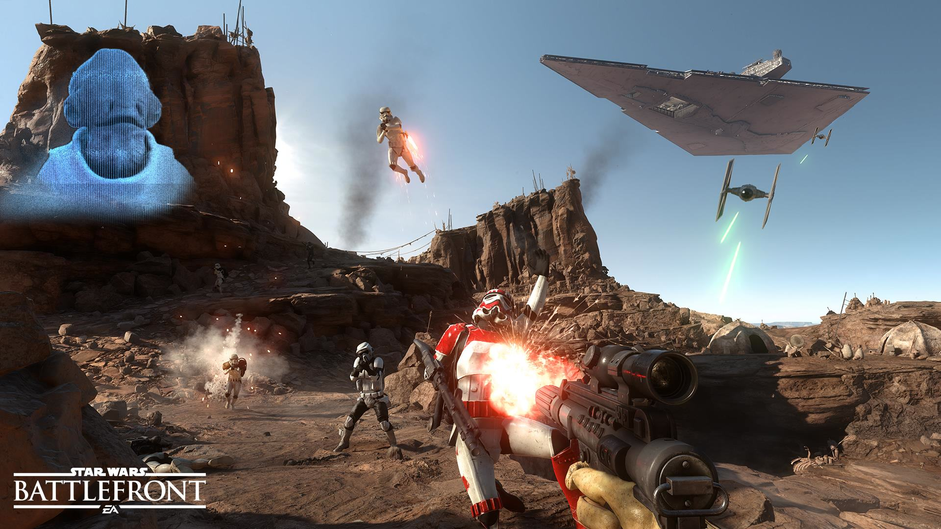 EA Reveal Details Of Star Wars Battlefront Free January Update And Beyond star wars battlefront e3 screen 2