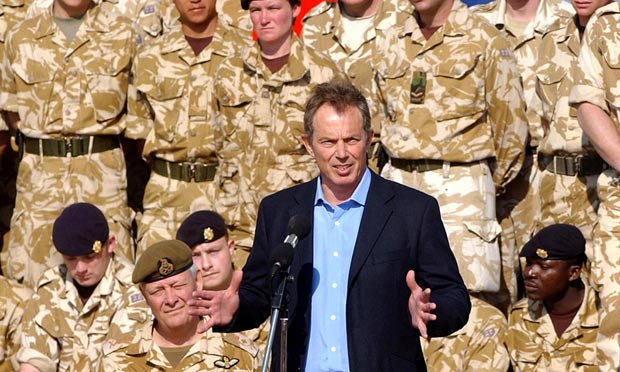 British Soldiers Who Fought In Iraq Could Face War Crimes Prosecution troops iraq 3