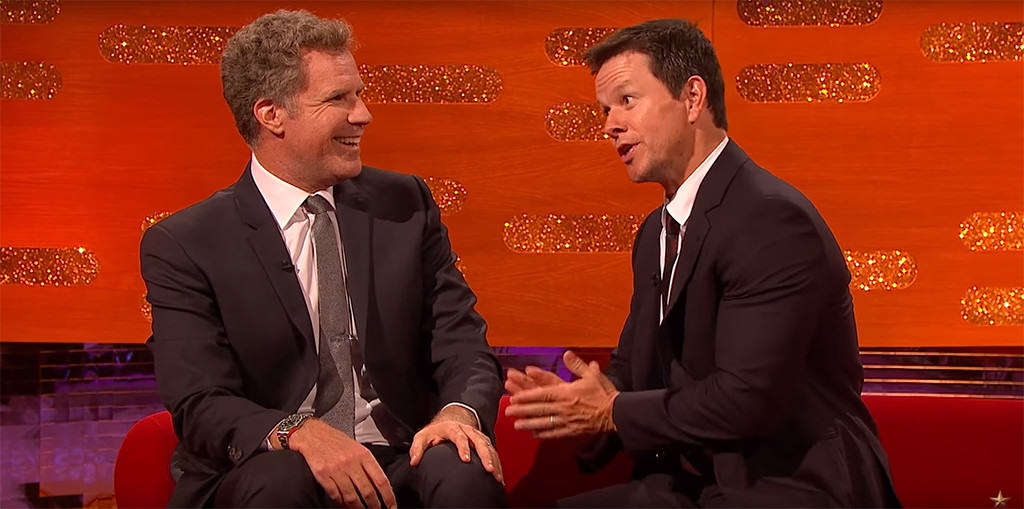 wahlberg ferrell 1 Will Ferrell And Mark Wahlberg Are Pretty Intense At Their Sons Football Games