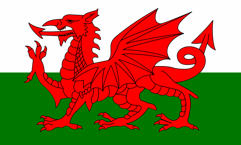 New Discovery Proves Dragons Actually Did Live In Wales welsh flag1
