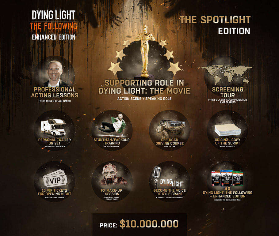 3004913 dl1 Dying Light: The Following Collectors Edition Costs £6.9 million