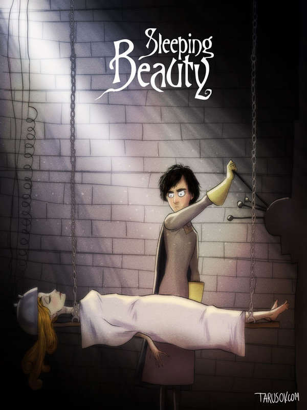 Delightfully Creepy Reimaginings Of Disney Classics As Tim Burton Films