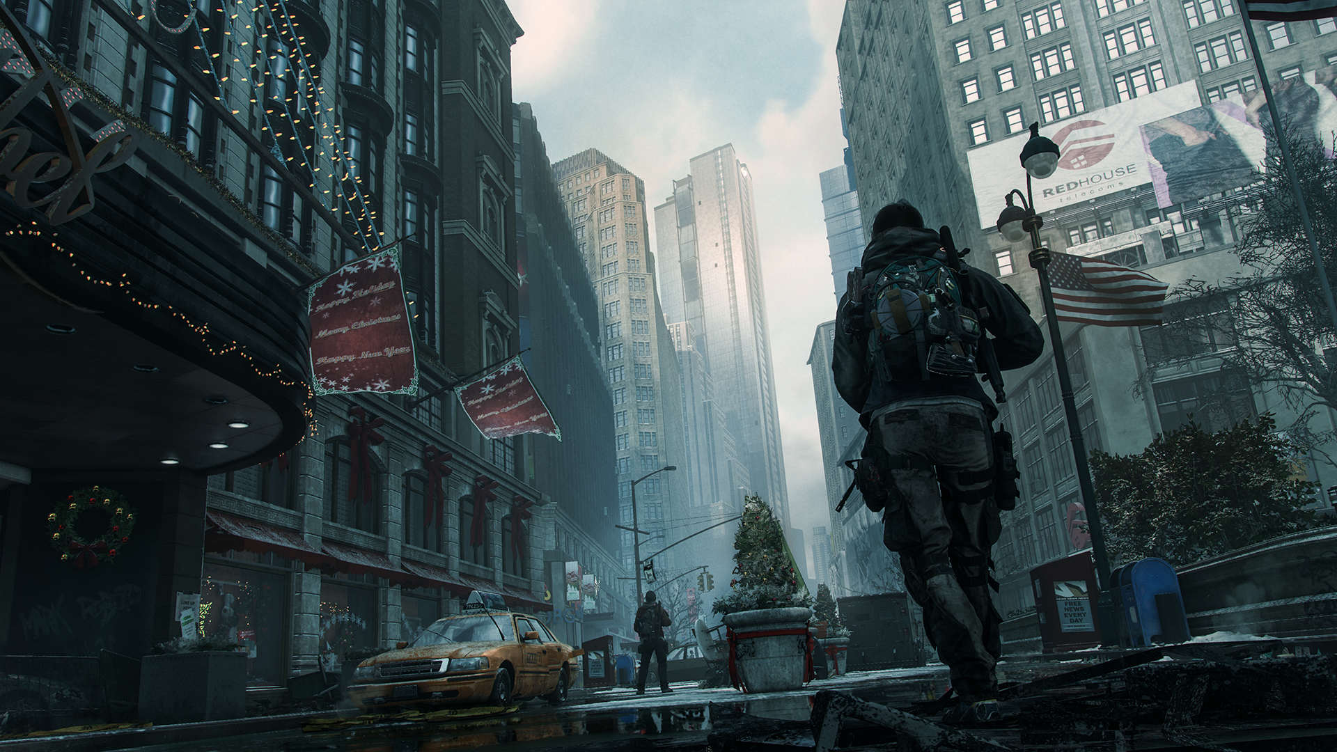 The Divisions Awesome New Trailer Released In Time For Open Beta E315 TCTD Final screenshot Outside Macys 208932