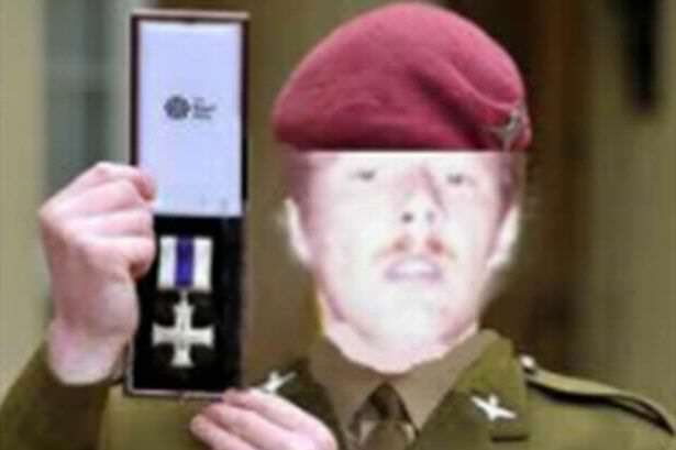 PAY Dave Harper not Lance Corporal Alfie Pope 1 Guy Pretended He Was Soldier With This Terrible Photoshopped Photo