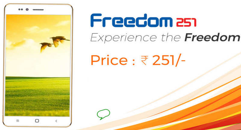 Worlds Cheapest Smartphone Launches For $4 Ringing Bells Freedom 251