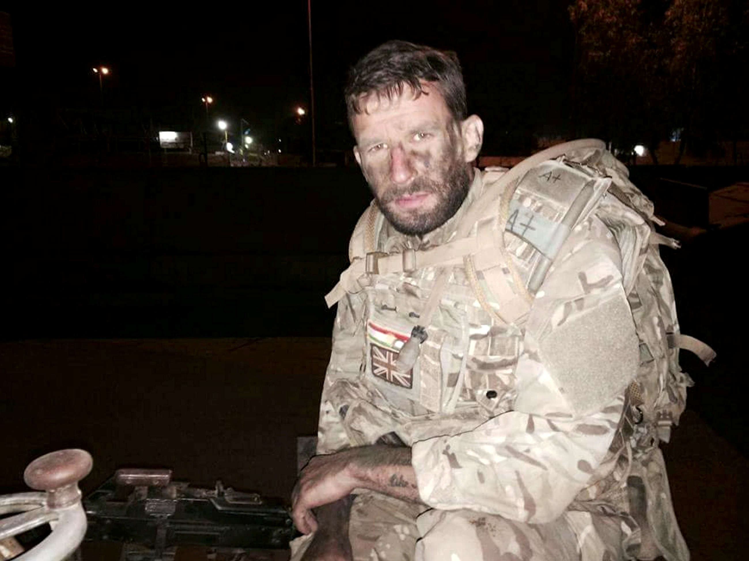 Story Of Ex Soldier Arrested When He Returned To UK From Fighting ISIS SWNS ISIS SOLDIER 04
