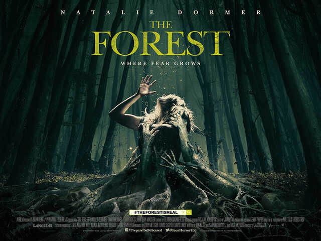 The Forest poster 1 Our Spine Tingling Review Of The Horror That Is The Forest