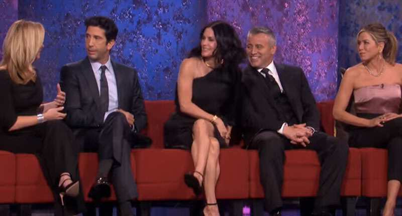 friends fb thumb 1 Here's The First Glimpse Of The Eagerly Awaited Friends Reunion Special
