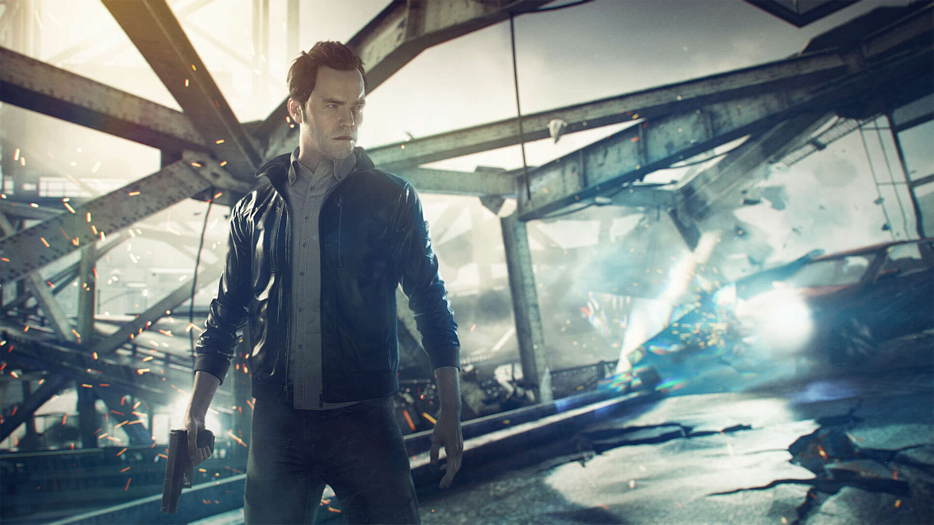 h See How Quantum Break Has Changed With This Cool Prototype Footage