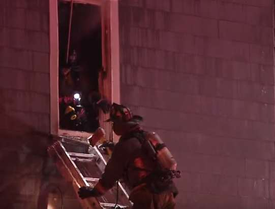 house fire 2 Brave Father Dies Rescuing His Infant Son From House Fire