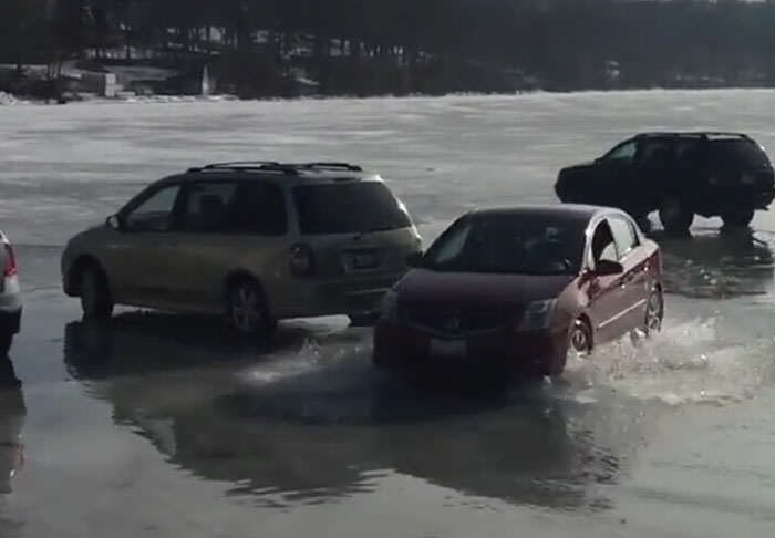 lake1 1 This Is Why You Shouldnt Park Your Car On A Frozen Lake