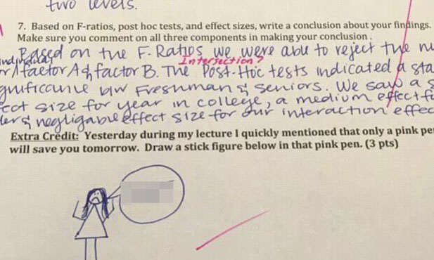 prof5 1 University Professor Puts Amazing Extra Questions On Exam Papers