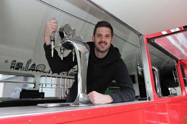 Guy Turns Bus Into Movable Pub And It Looks Incredible