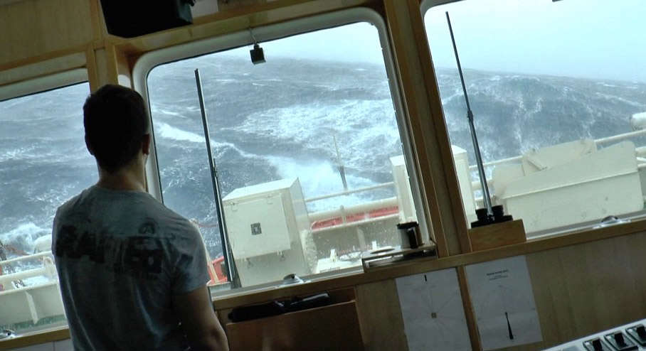 storm2 This Terrifying Footage From A Boat During Storm Gertrude Is Insane