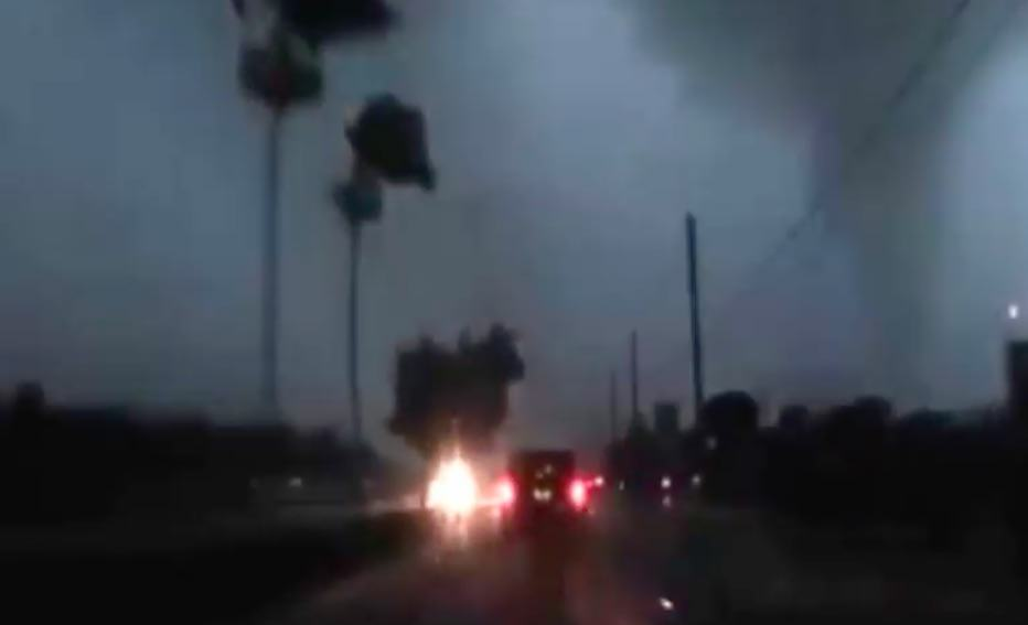 storm7 Guy Has Incredible Road Rage Reaction To Getting Caught In Hurricane