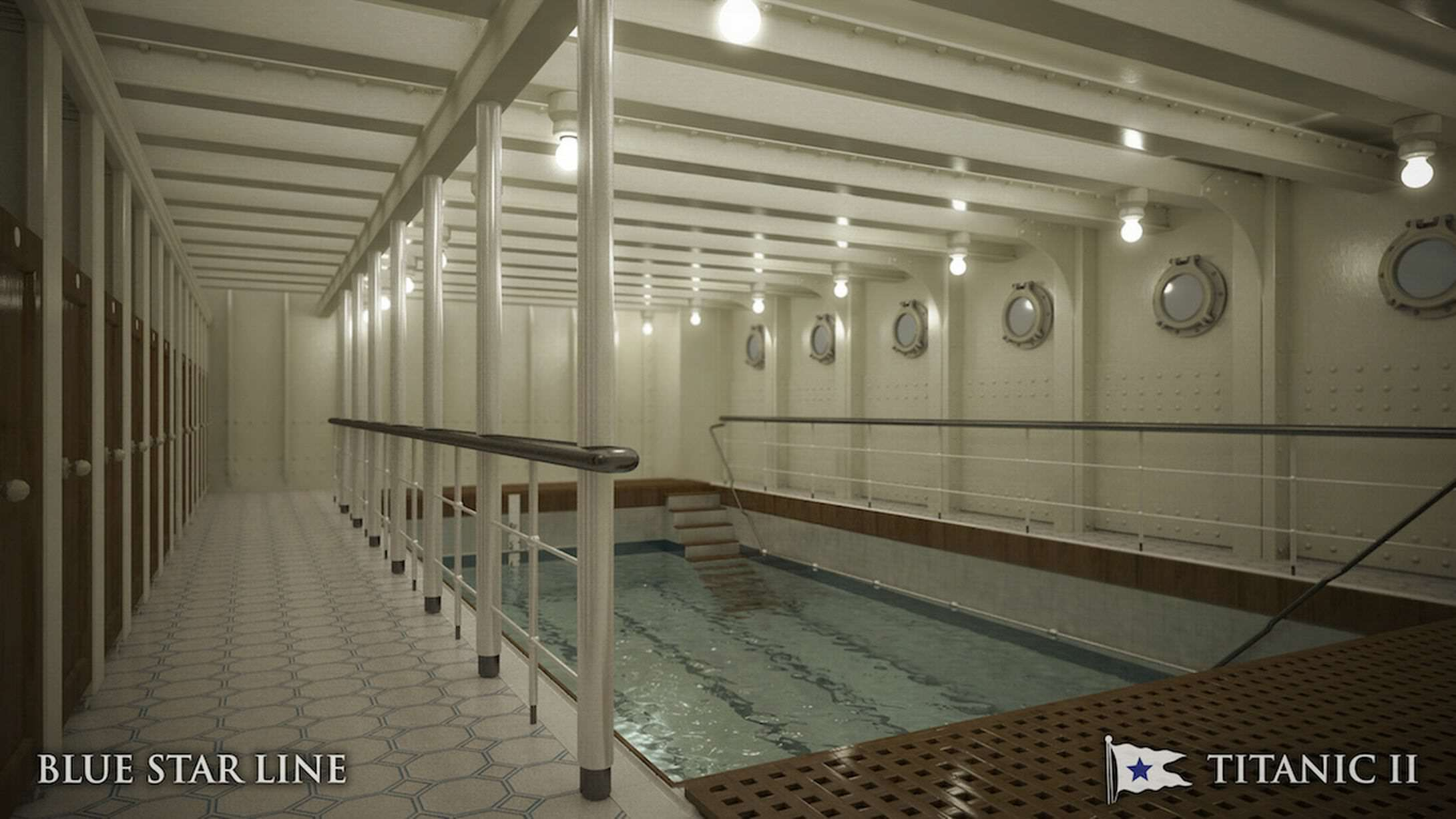 Incredible New Photos Give First Look Inside Titanic 2