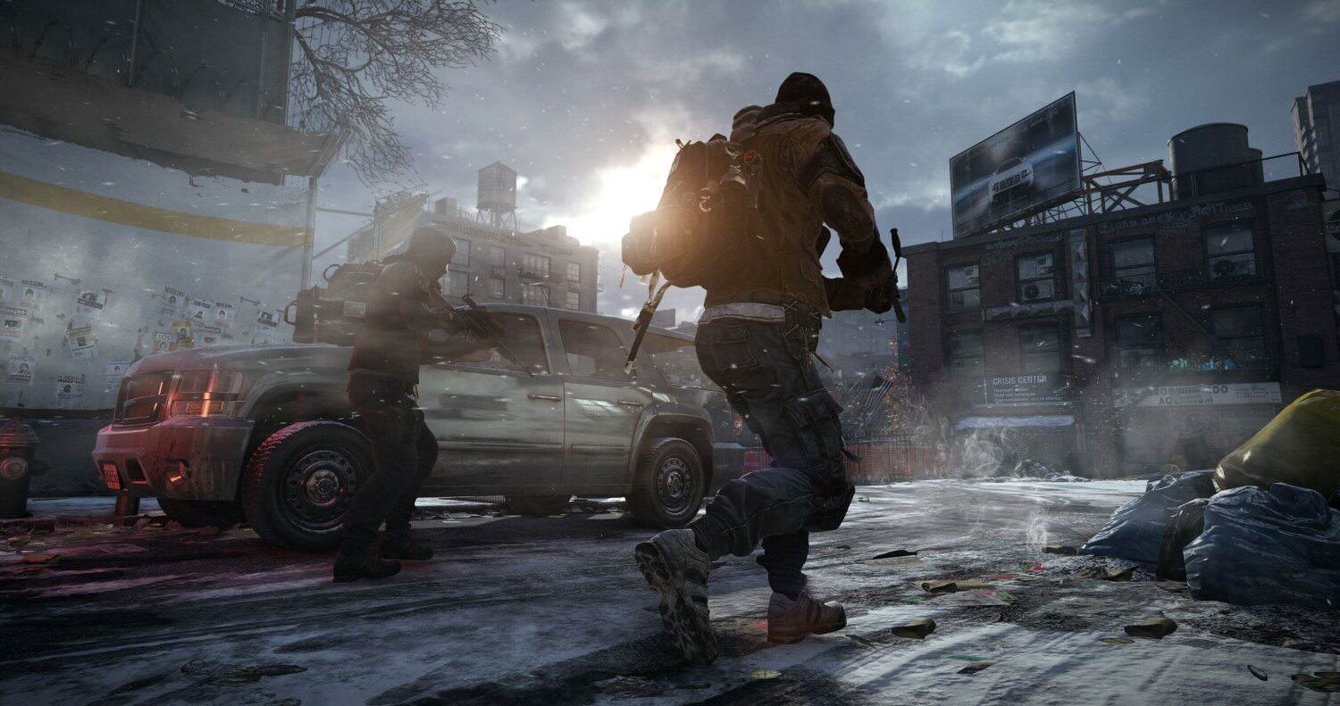 tom clancy division screen The Division Running At 60FPS On PC Is Glorious