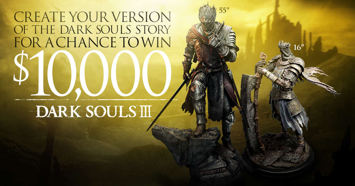 tumblr nztp9jEY9n1uyp280o2 r1 1280 Namco Offers £6,905 To Anyone Who Can Explain Dark Souls Story