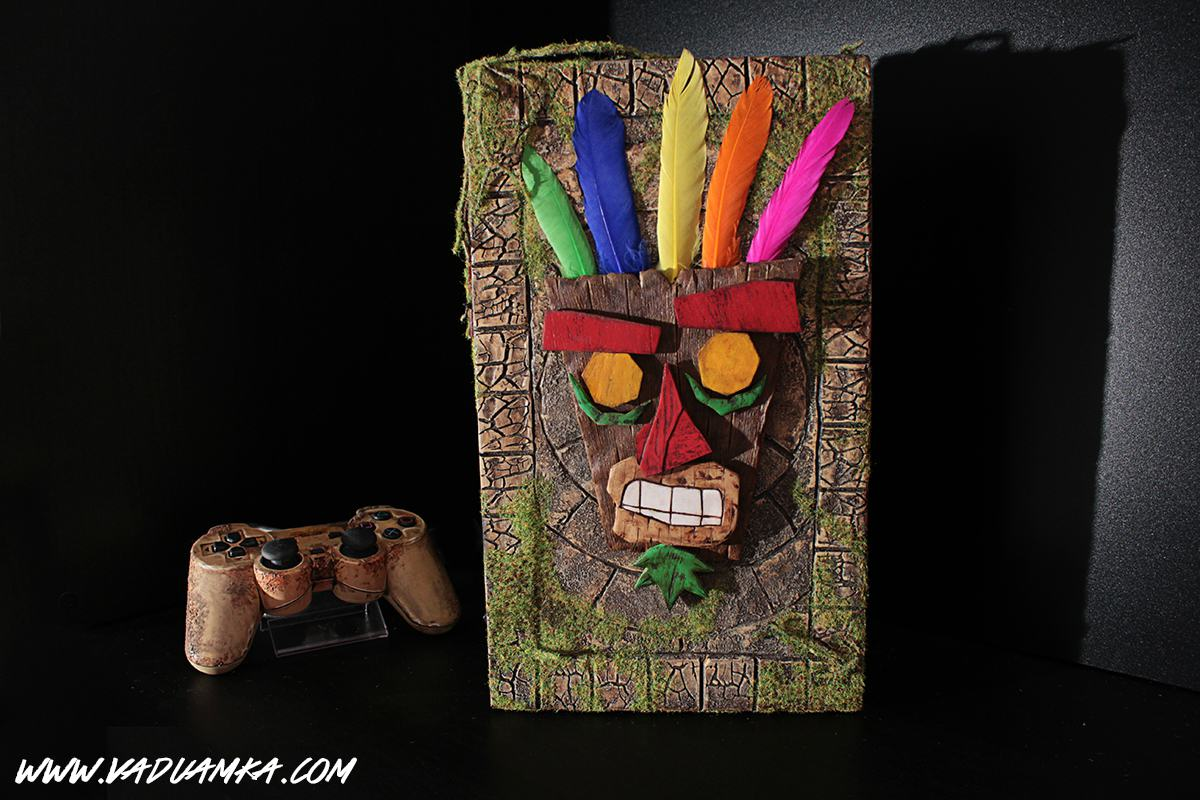 109456441 o This Customised Crash Bandicoot PS2 Is A Thing Of Beauty