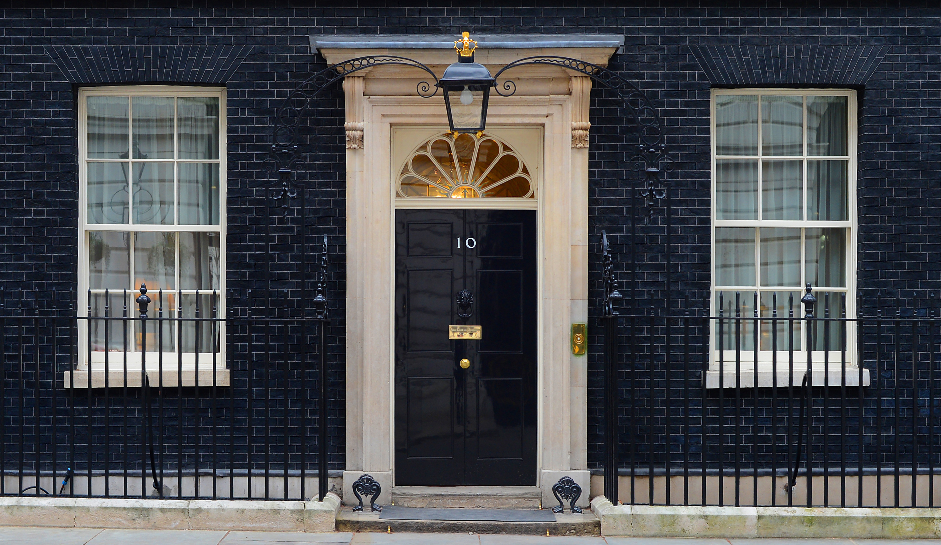 10 Downing Street. MOD 45155532 British ISIS Fighters Release Video Threatening Heathrow And Downing Street