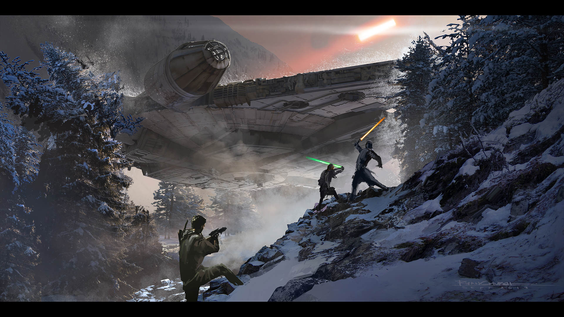 ARTDEPT VD TFA 023 1 Star Wars Creators Reveal Awesome Force Awakens Concept Art