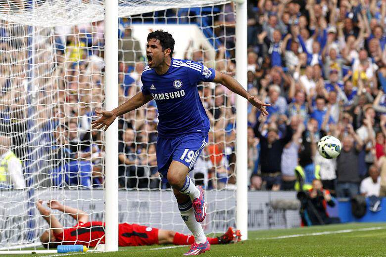 Costa goal Five Reasons Chelsea Can Claim A Champions League Place