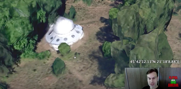 NEW3D Alien Hunter Claims To Have Spotted Parked UFO On Google Maps