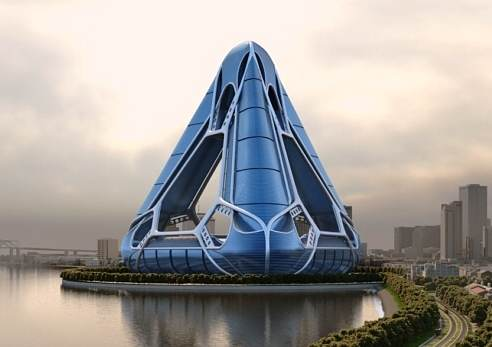 NOAH   New Orleans Arcology Habitat   Ahearn Schopfer and Assocs crop Heres What Cities Could Look Like in 2050