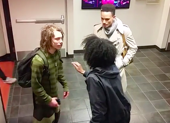 Screen Shot 2016 03 30 at 13.48.12 Video Of Black Student Harassing White Guy With Dreadlocks Goes Viral