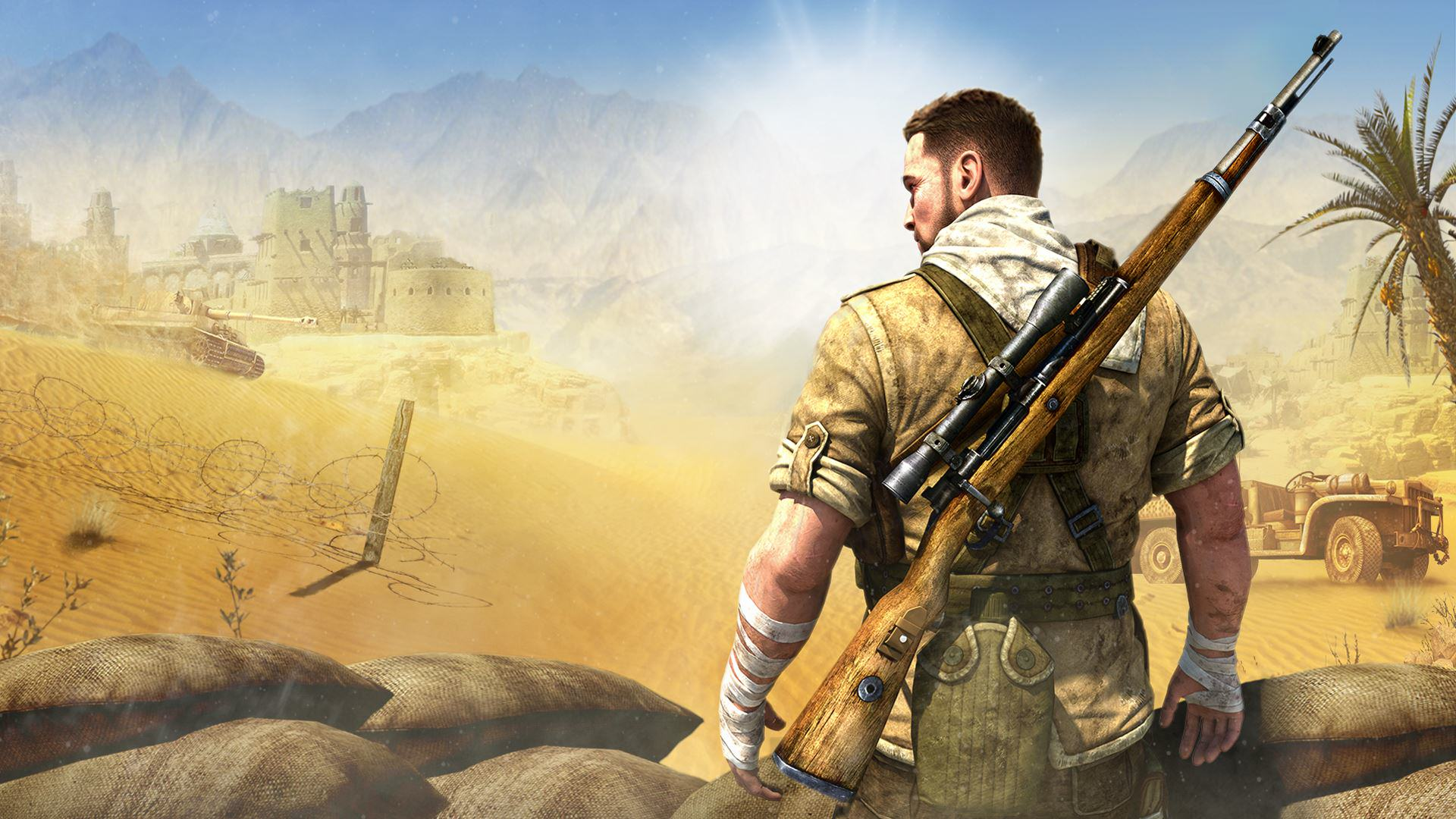 Sniper Elite wallpaper Sniper Elite 4 Officially Announced, Looks Awesome In New Trailer