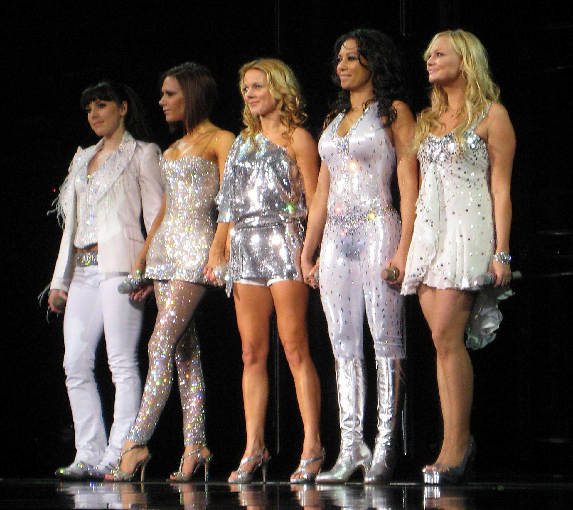 Mel B Claims She Beat Up One Of The All Saints Girls Spice Girls in Toronto Ontario