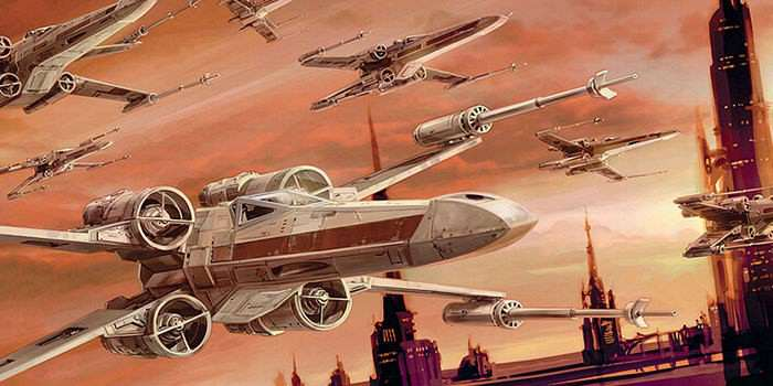Star Wars Rogue Squadron X Wing Art Rogue One: A Star Wars Story Teaser Leaked Online
