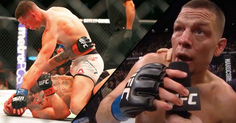 con Nate Diaz Defeats Conor McGregor In Stunning UFC 196 Victory