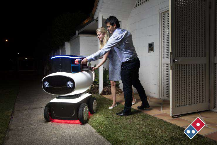 dom080316670 Dominos New Futuristic Delivery Method Could Be An Absolute Game Changer