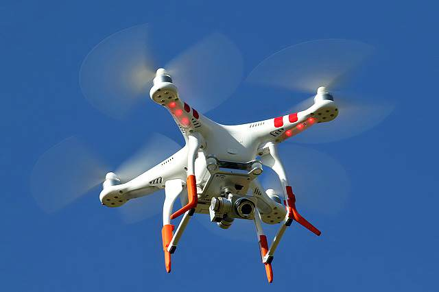 drone 640x426 Drones Could Wreak Havoc With Passenger Planes Engines