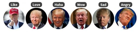 emojis2 You Can Change Your Facebook Reaction Emojis To Trumps Face