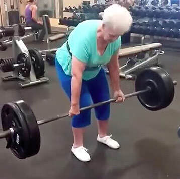 gran This 78 Year Old Gran Can Deadlift More Than You