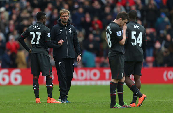 klopp liv Liverpool F*ck Up 2 0 Lead To Lose, Internet Trolls Hard